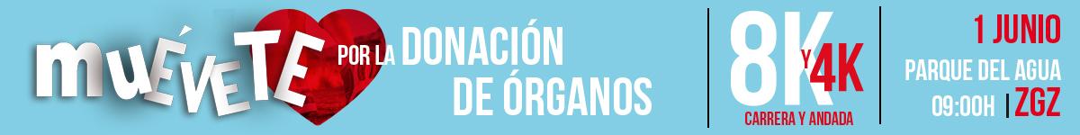 Muévete por la donación de órganos